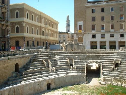 Anfiteatro romano Lecce, piazza Sant'Oronzo / wikipedia