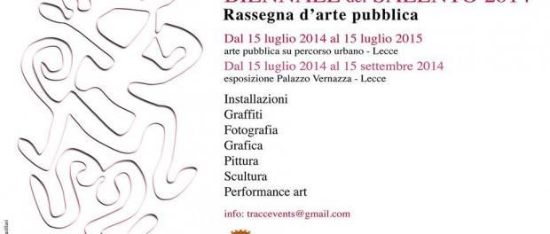 Biennale del Salento, terza edizione / Pagina Fb Tracce