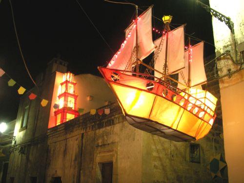 Festa dei Lampioni, il vascello / @flickr / salentoexplora