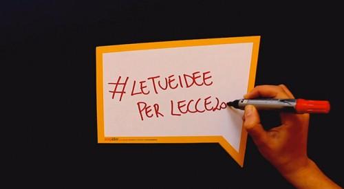 Lecce 2019, le idee da condividere / Lecce2019-Pagina Ufficiale Fb