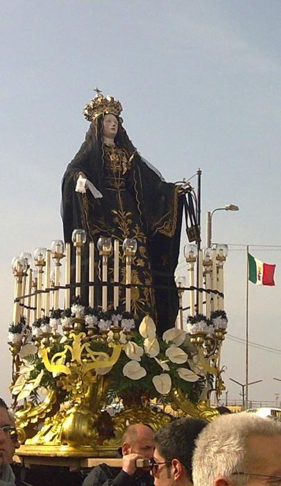 Sacra Effige della Vergine Addolorata - Foto di Gabriele Zompì